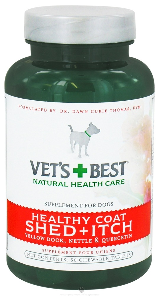 Vet's Best - Healthy Coat Shed + Itch - 50 Chewable Tablets CLEARANCE PRICED