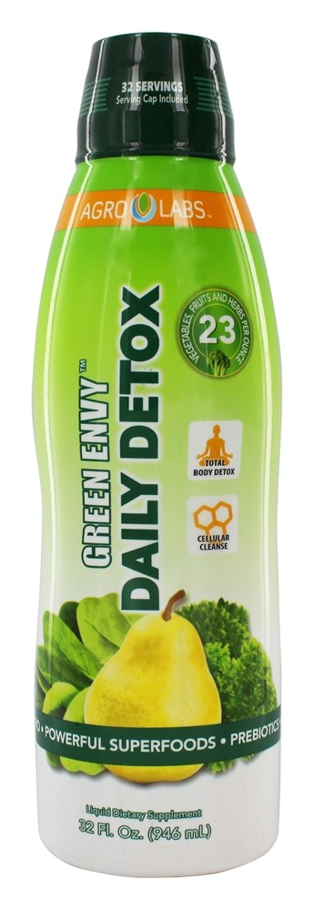 Agro Labs - Green Envy Daily Detox - 32 oz.