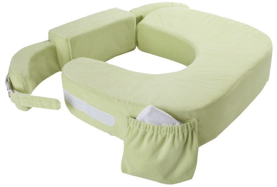 My Brest Friend - Twin Plus Nursing Pillow Green