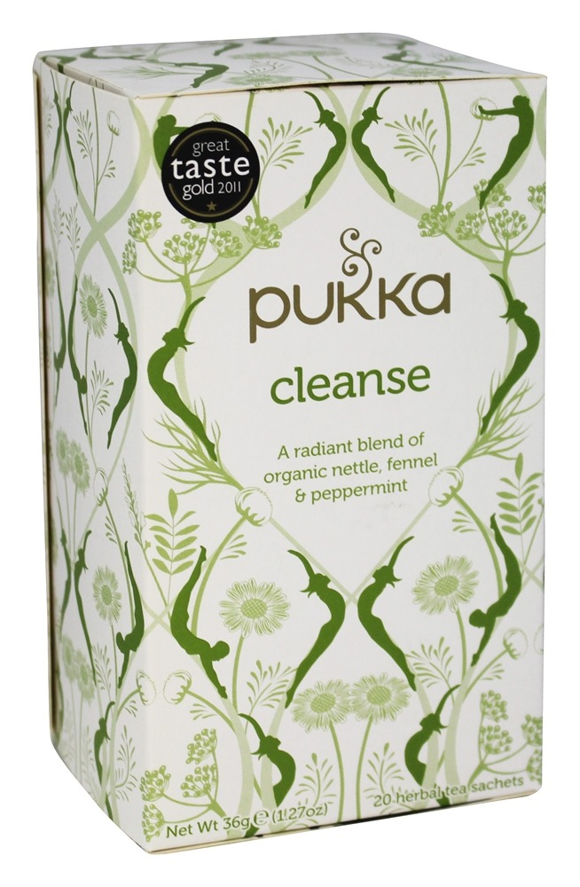 Pukka Herbs - Organic Nettle, Fennel & Peppermint Tea Cleanse - 20 Tea Bags