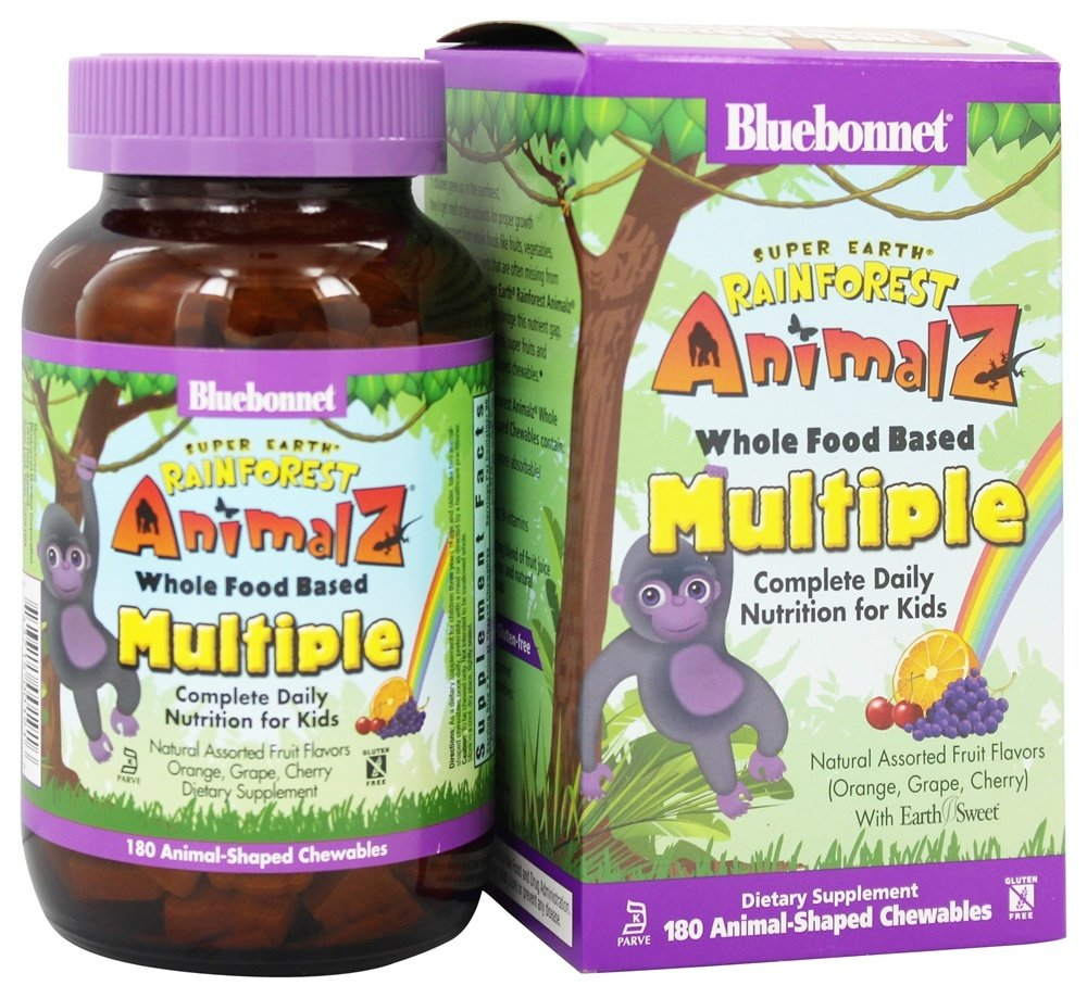 Bluebonnet Nutrition Vitamins and Minerals