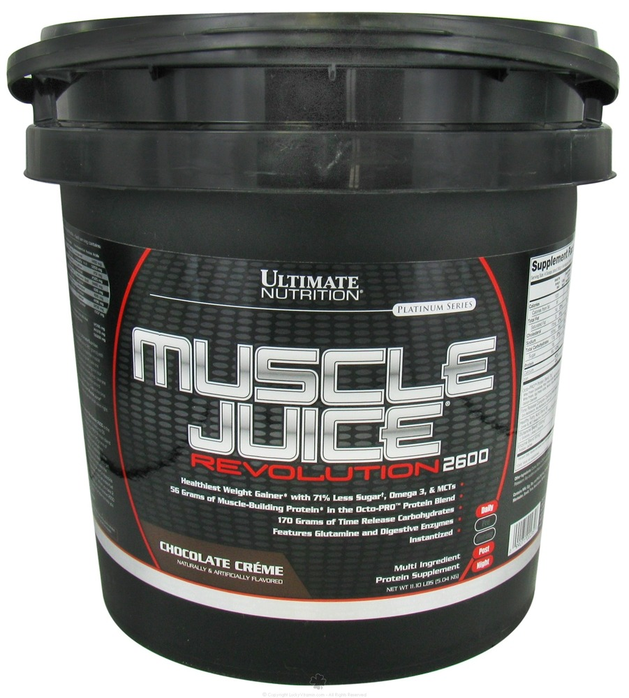 Ultimate Nutrition - Platinum Series Muscle Juice Revolution 2600 Chocolate Creme - 11.1 lbs.