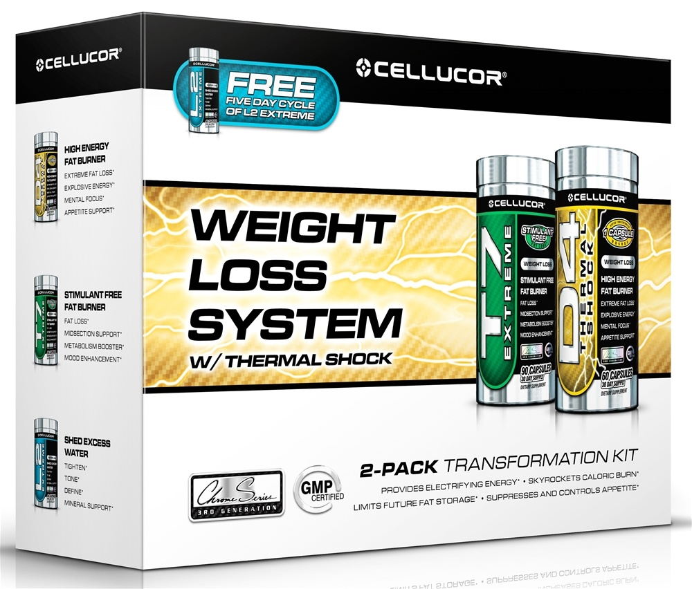 Cellucor - Weight Loss System with Thermal Shock - Free L2 Extreme