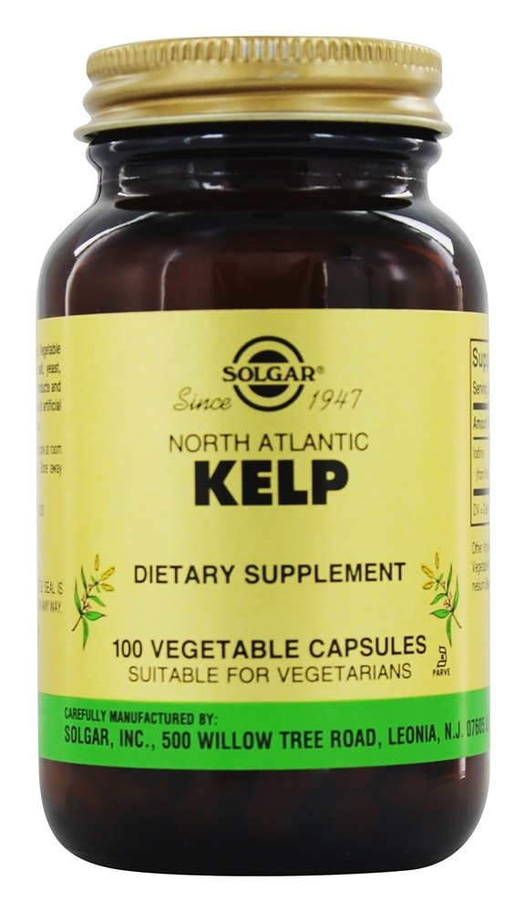 Solgar - North Atlantic Kelp - 100 Vegetarian Capsules