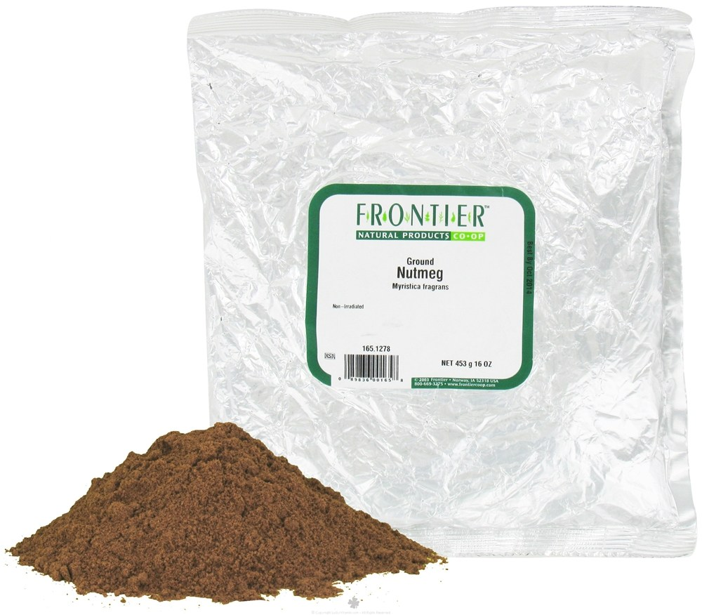 Frontier Natural Products - Nutmeg Ground - 1 lb. CLEARANCE PRICED