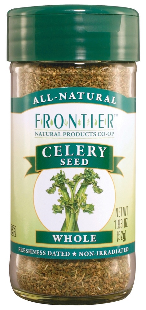 Frontier Natural Products - Celery Seed Whole - 1.83 oz. CLEARANCE PRICED