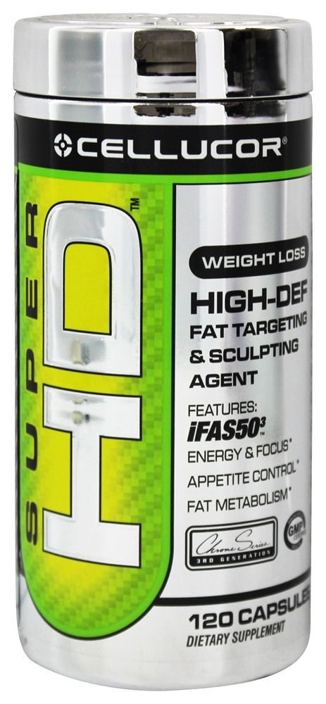 Cellucor - Super HD Fat Targeting & Sculpting Agent - 120 Capsules