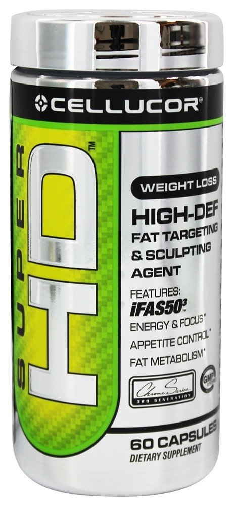 Cellucor - Super HD Fat Targeting & Sculpting Agent - 60 Capsules
