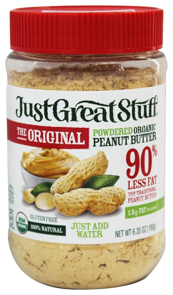 Betty Lou's - Just Great Stuff Organic Powdered Peanut Butter - 6.43 oz.