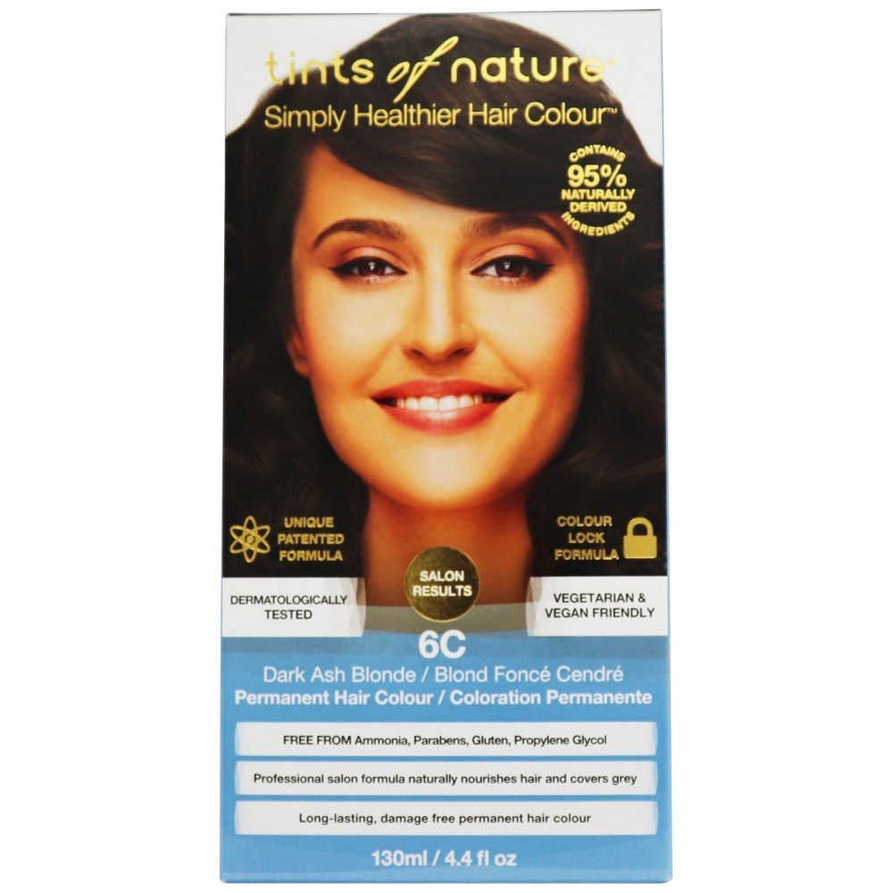 Tints Of Nature - Conditioning Permanent Hair Color 6C Dark Ash Blonde - 4.4 oz. LUCKY DEAL