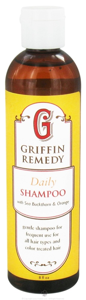 Griffin Remedy - Daily Shampoo with Sea Buckthorn and Orange - 8 oz.