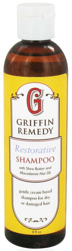 Griffin Remedy - Restorative Shampoo with Shea Butter and Macadamia Nut Oil - 8 oz.