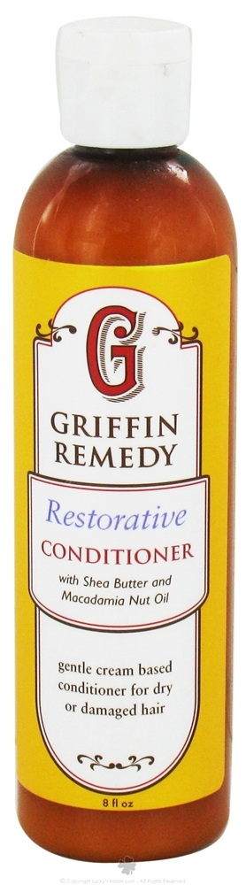 Griffin Remedy - Restorative Conditioner with Shea Butter and Macadamia Nut Oil - 8 oz.