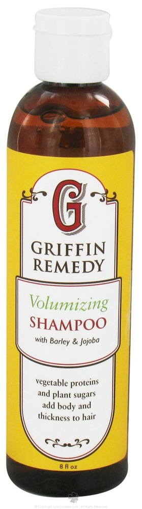 Griffin Remedy - Volumizing Shampoo with Barley and Jojoba - 8 oz.