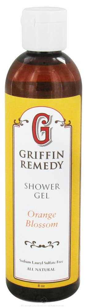 Griffin Remedy - Shower Gel Orange Blossom - 8 oz.