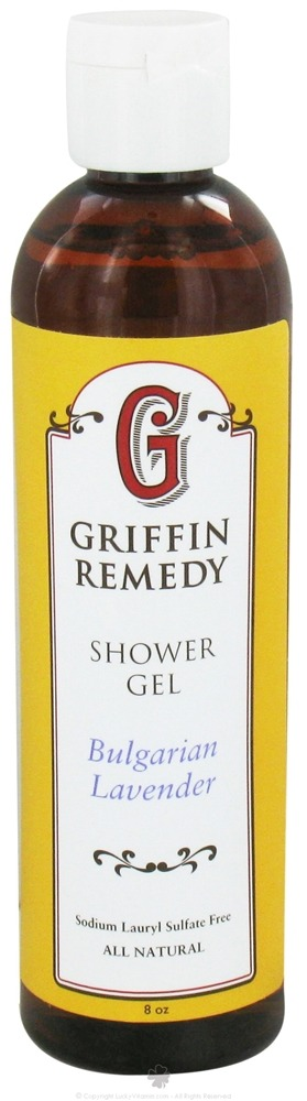 Griffin Remedy - Shower Gel Bulgarian Lavender - 8 oz.