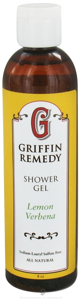 Griffin Remedy - Shower Gel Lemon Verbena - 8 oz.