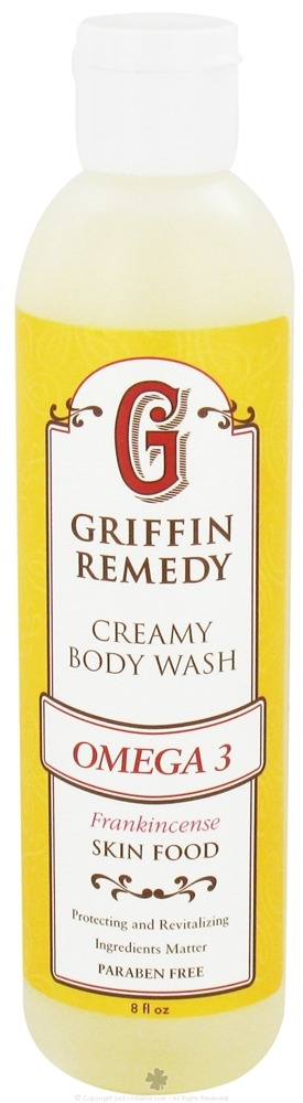 Griffin Remedy - Omega-3 Creamy Body Wash Frankincense - 8 oz.