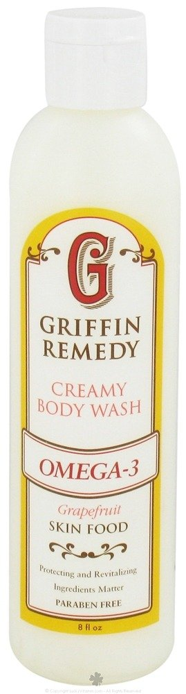 Griffin Remedy - Omega-3 Creamy Body Wash Grapefruit - 8 oz.