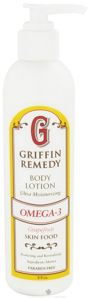 Griffin Remedy - Omega-3 Ultra Moisturizing Body Lotion Grapefruit - 8 oz.