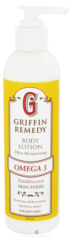 Griffin Remedy - Omega-3 Ultra Moisturizing Body Lotion Frankincense - 8 oz.