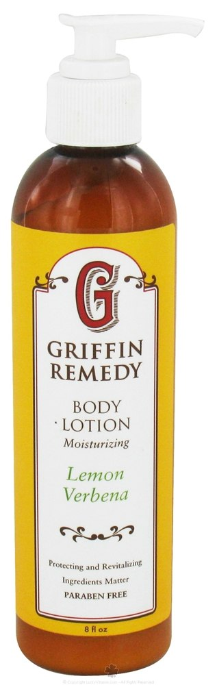 Griffin Remedy - Moisturizing Body Lotion Lemon Verbena - 8 oz.
