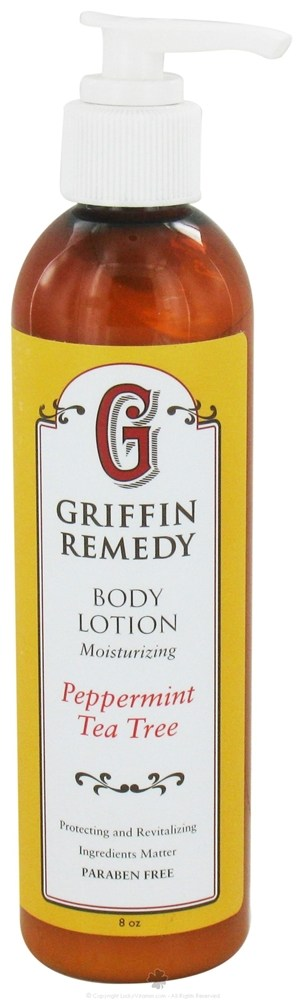 Griffin Remedy - Moisturizing Body Lotion Peppermint Tea Tree - 8 oz.
