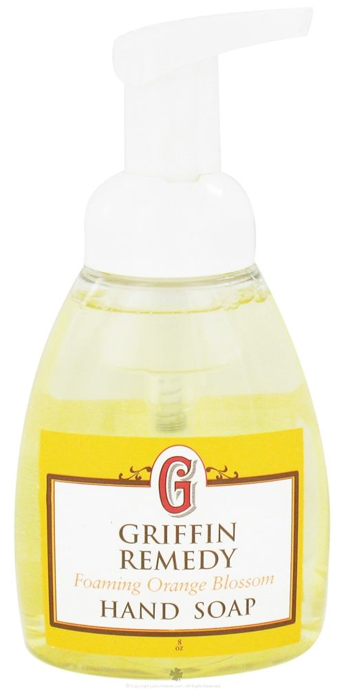 Griffin Remedy - Foaming Hand Soap Orange Blossom - 8 oz.