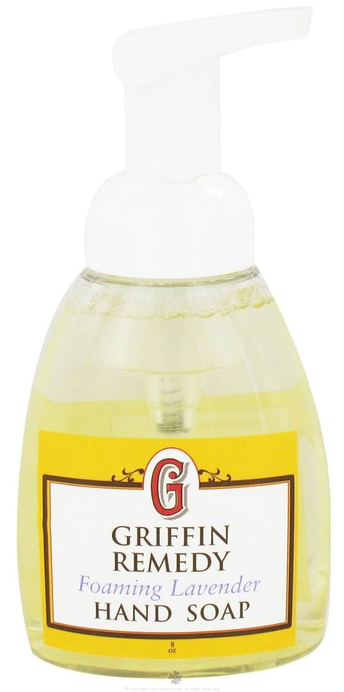 Griffin Remedy - Foaming Hand Soap Bulgarian Lavender - 8 oz.