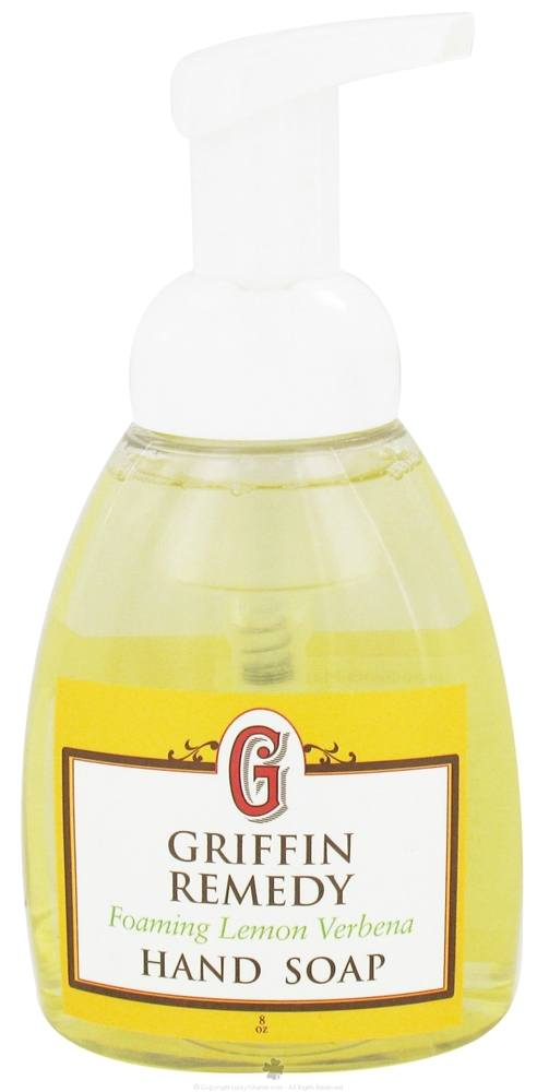 Griffin Remedy - Foaming Hand Soap Lemon Verbena - 8 oz.