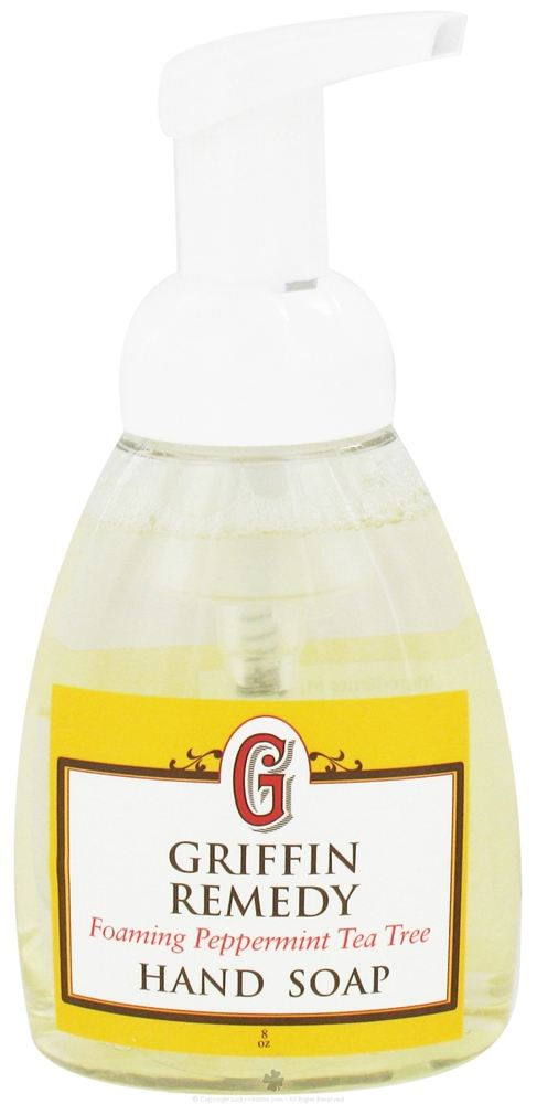 Griffin Remedy - Foaming Hand Soap Peppermint Tea Tree - 8 oz.