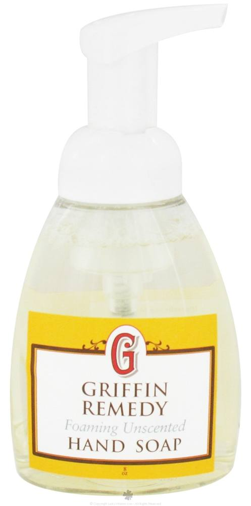 Griffin Remedy - Foaming Hand Soap Unscented - 8 oz.