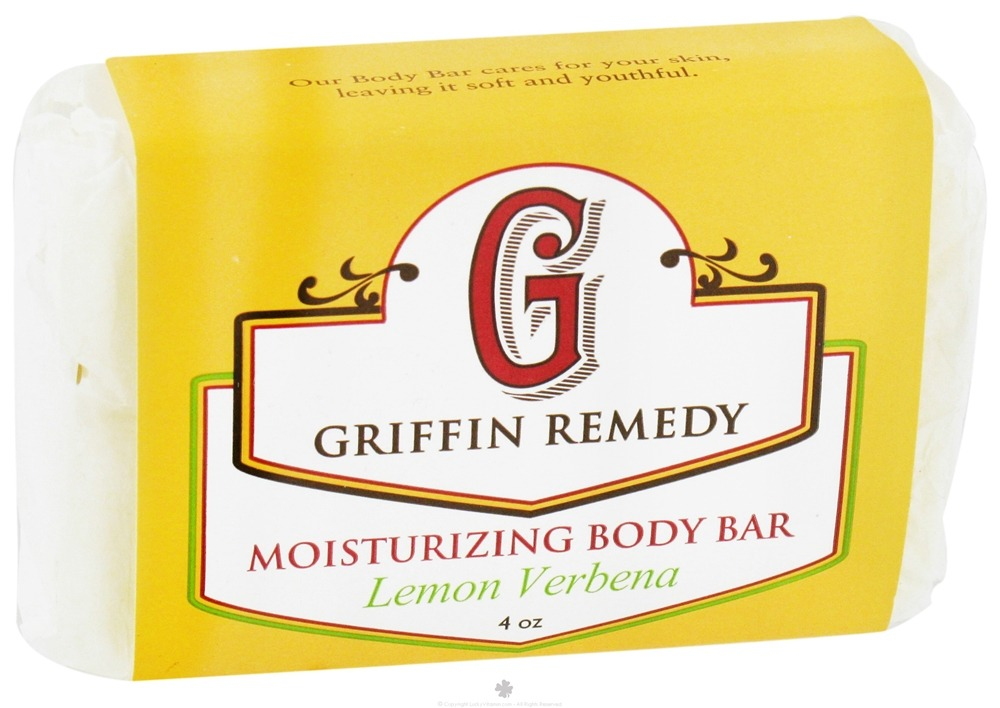Griffin Remedy - Moisturizing Body Bar Lemon Verbena - 4 oz.