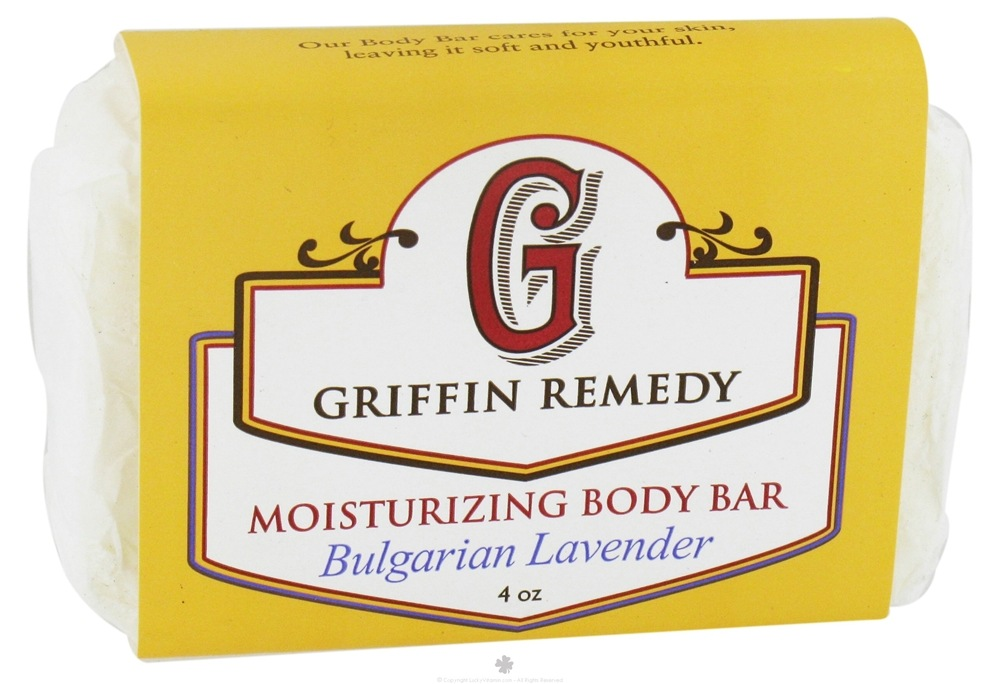 Griffin Remedy - Moisturizing Body Bar Bulgarian Lavender - 4 oz.