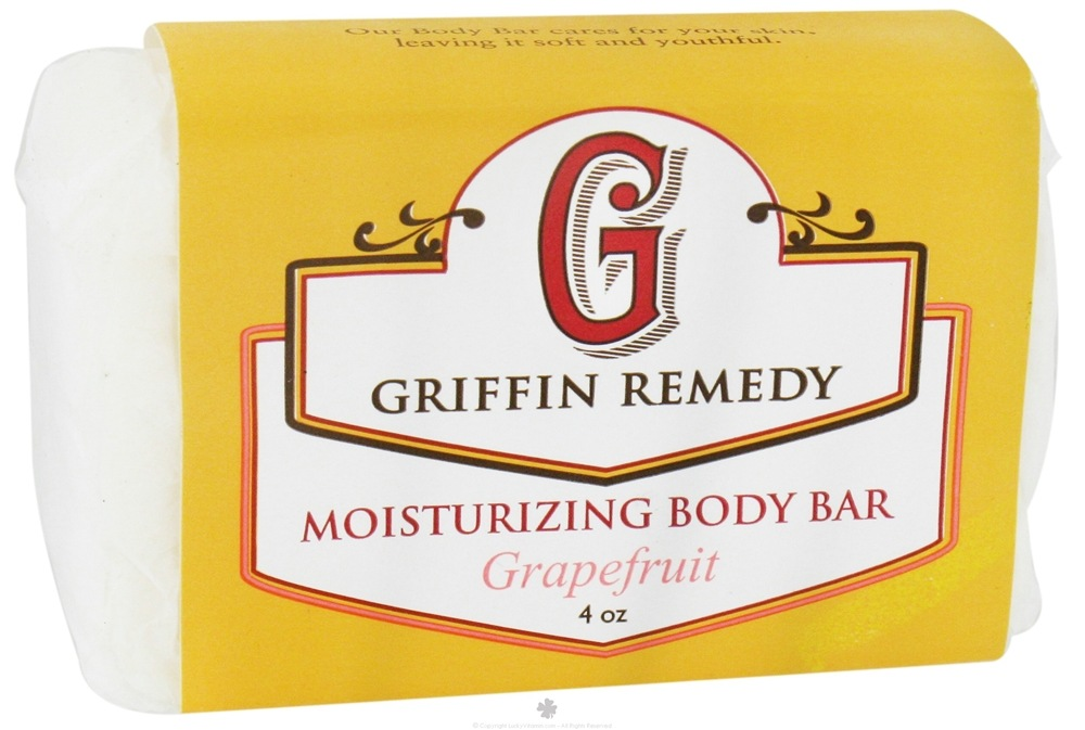 Griffin Remedy - Moisturizing Body Bar Grapefruit - 4 oz.