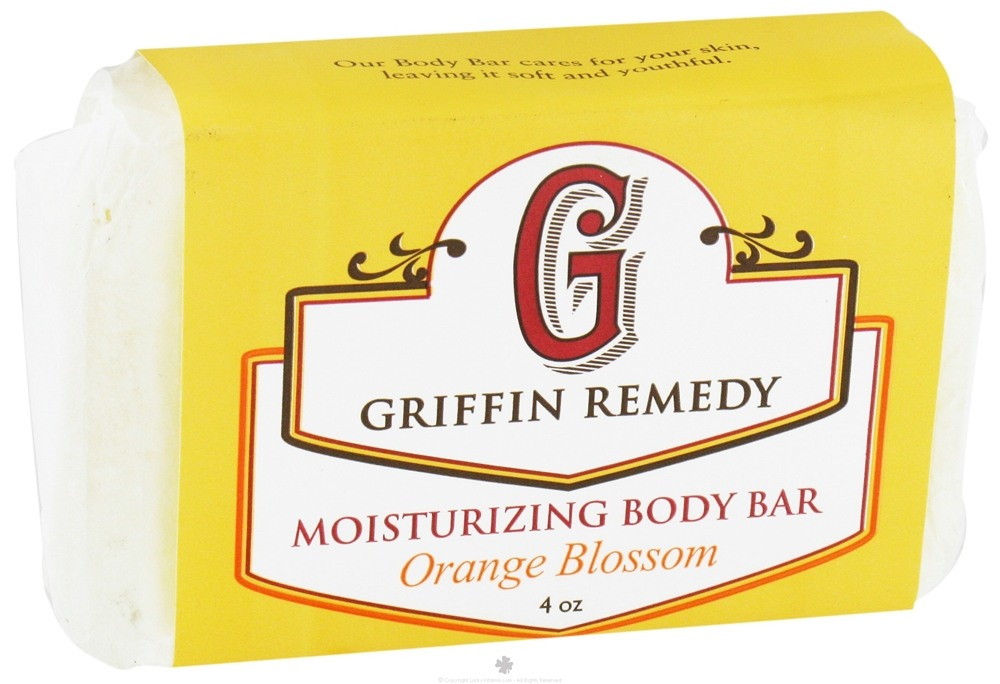 Griffin Remedy - Moisturizing Body Bar Orange Blossom - 4 oz.
