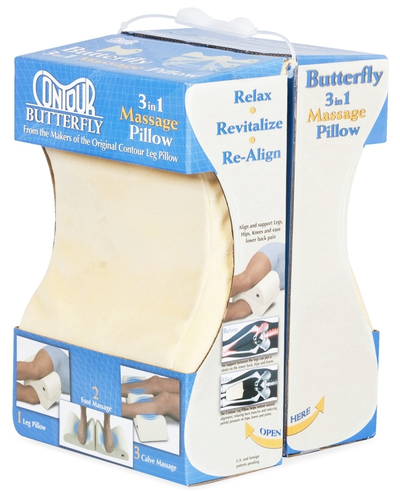 Contour Products - Butterfly 3 In 1 Massage Pillow