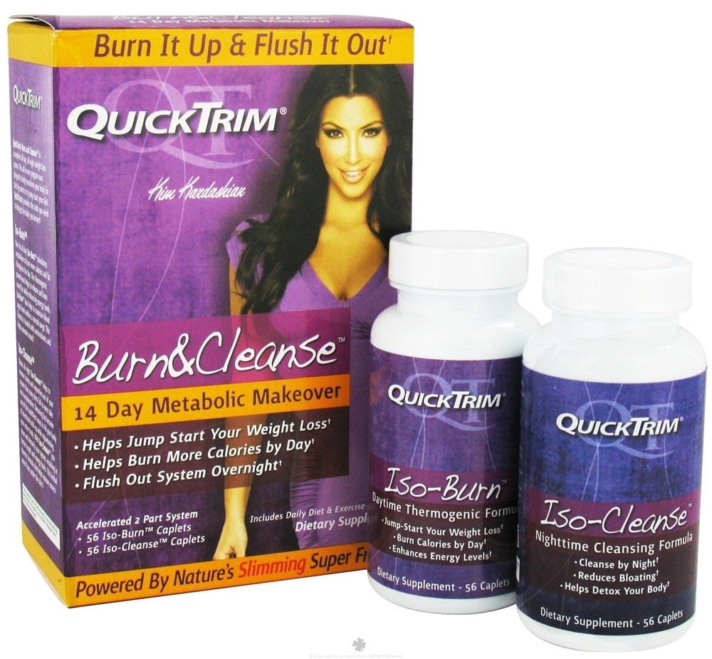 Kardashian - Quick Trim Burn and Cleanse 14 Day Metabolic Makeover