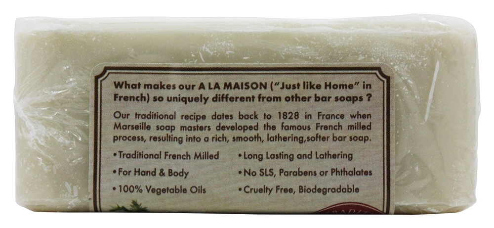 A la maison traditional french milled bar soap white tea for A la maison soap review