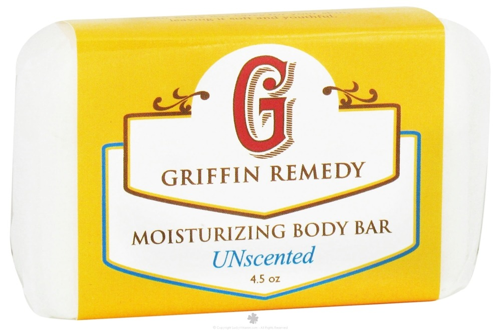 Griffin Remedy - Moisturizing Body Bar Unscented - 4.5 oz.