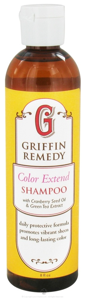 Griffin Remedy - Color Extend Shampoo With Cranberry Seed Oil and Green Tea Extract - 8 oz.