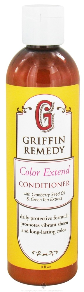 Griffin Remedy - Color Extend Conditioner With Cranberry Seed Oil and Green Tea Extract - 8 oz.