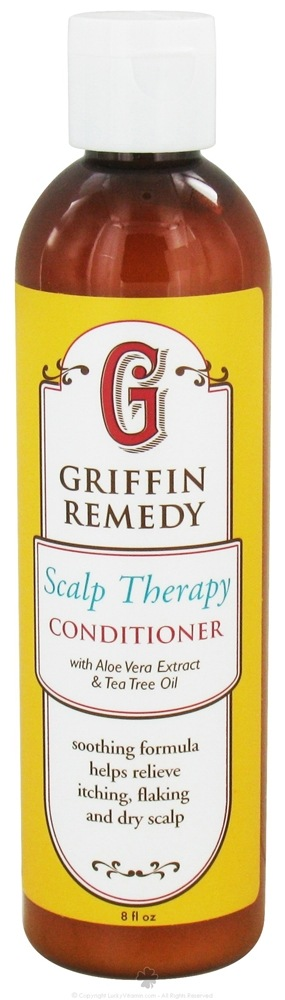 Griffin Remedy - Scalp Therapy Conditioner with Aloe Vera Extract and Tea Tree Oil - 8 oz.