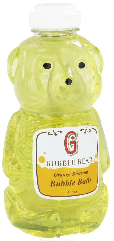 Griffin Remedy - Bubble Bear Bubble Bath Orange Blossom - 21 oz.
