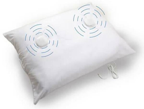 Sound Oasis - Sleep Therapy Pillow with Inline Volume Control (20 in. x 26 in.) SP-151