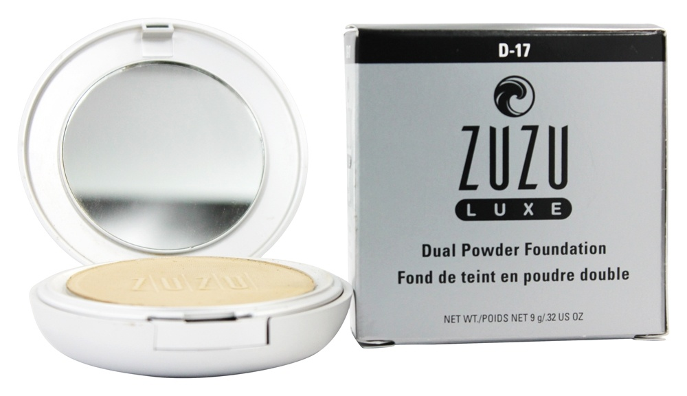 Zuzu Luxe - Dual Powder Foundation D-17 Light/Medium Skin D-17 - 0.32 oz.