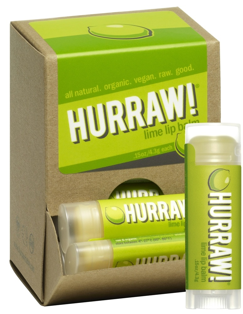 Hurraw Balm LLC - Lip Balm Lime - 0.15 oz. CLEARANCE PRICED