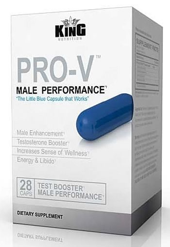 Pro Nutra - PRO-V Male Performance Test Booster - 28 Capsules CLEARANCE PRICED