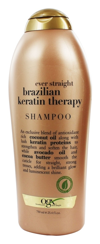 Organix - Shampoo Ever Straight Brazilian Keratin Therapy - 25.4 oz.
