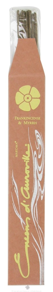 Maroma - Encens d'Auroville Incense Frankincense and Myrrh - 10 Stick(s)